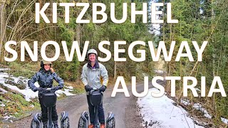 Kitzbuehel Snow Segway Austria