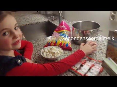 DIY - Zelf brownies fudge zonder bakken maken recept (Nederlands)
