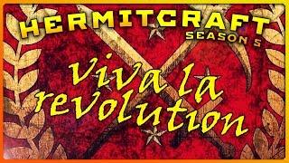 HermitCraft 5 - VIVA LA REVOLUTION! #VIVALAREVOLUTION