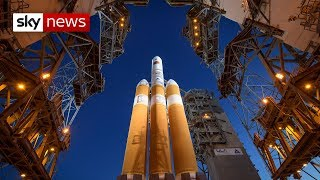 NASA+launch+rocket+to+the+Sun