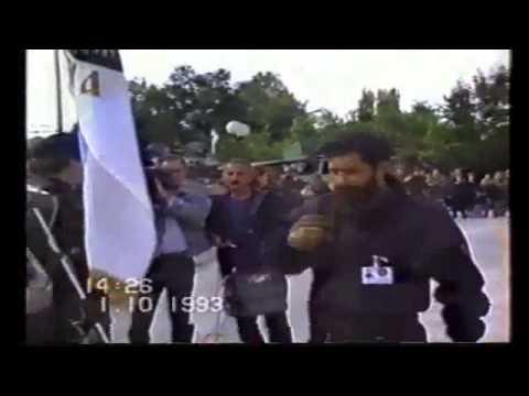 Рат� и с� имци Српске Гарде са Илиџе