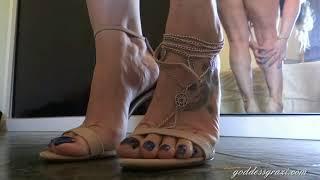 Pernas e pés deliciosos