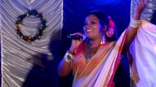 Kalpana Hansda new .Santali Folk Song.. ..Bankura nagar aato sahrai..2016..Part-32