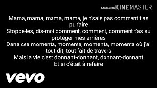 La fouine - Machine arrière (Paroles+audio)