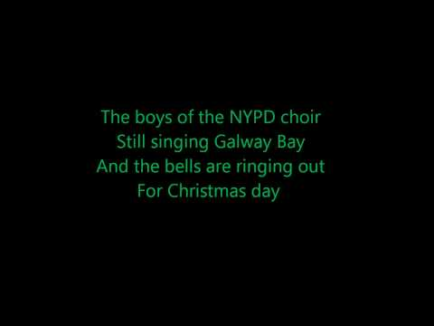 Fairy Tale of New York- The Pogues ft. Kirsty McColl (Lyrics)