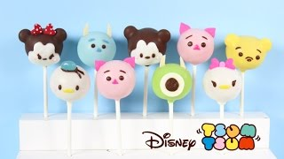 How to Make Disney Tsum Tsum Cake Pops!