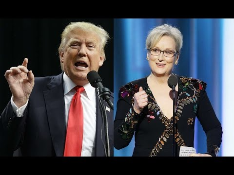 Trump attacks Meryl Streep after Golden Globes speech