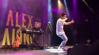 Alex Aiono - More Fire (Original Song) LIVE in NY