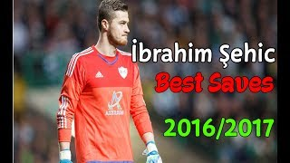 İbrahim Şehic | Best Saves | 2016/2017 | Qarabağ FK |