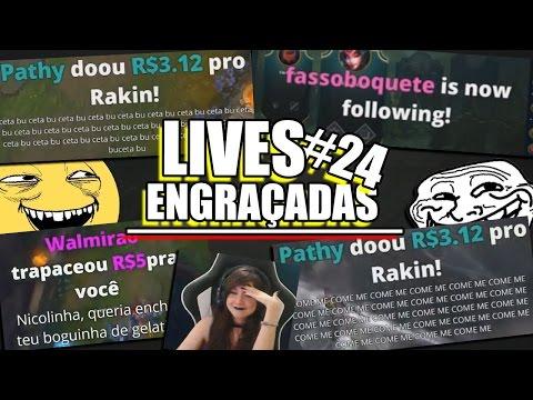 DONATES ENGRAÇADOS & TROLANDO GRINGA | LIVES ENGRAÇADAS #24