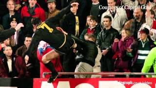 Archive: Eric Cantona's Kung-Fu kick