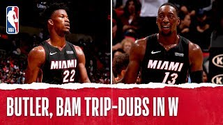 Butler, Bam BOTH Earn Triple-Double's!