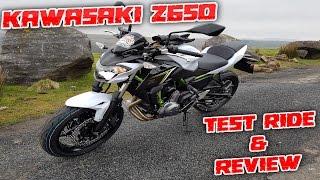 #151 Kawasaki Z650 2017 Detailed Test Ride & Review!