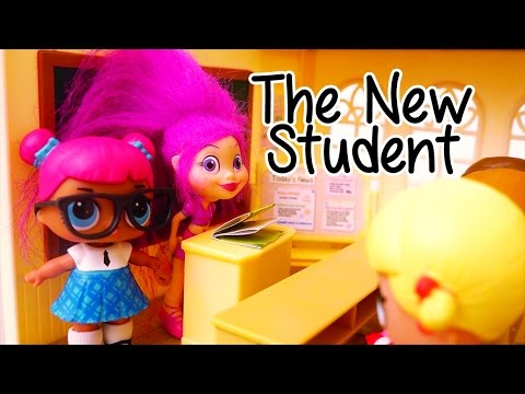 Xxx Mp4 Toys For Kids LOL Surprise Dolls Blind Bags A New Student At School Stories With Toys Dolls 3gp Sex