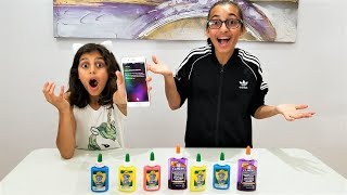 SIRI PICKS SLIME INGREDIENTS!!!!