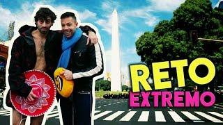 CORRIENDO DESNUDO En El Obelisco: Reto EXTREMO Con Dante!! | Mariano Beron