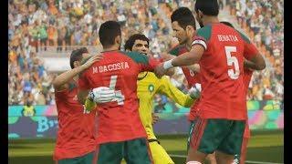 Maroc vs Argentine Coupe du Monde 2018 Russie #06 Demi Finale PES 18