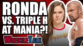 Ronda Rousey Vs. Triple H At WrestleMania 34?! | WWE Elimination Chamber 2018 Review