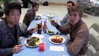Scorch Trials Behind the Scenes #1 / New Friends and Enemies