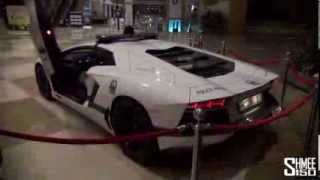 Dubai Police Supercars in Action...........Dubay Polis Arabalari: Labmorgini,Bentley,