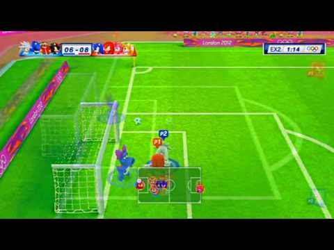 Sonic Vs Shadow M & S London 2012 FootBall Gameplay HD