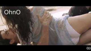 Hot Sunny Leone In Wet Clothes Shooting for Kamasutra Condom Ad sex