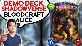SHADOWVERSE - Démonstration du deck ALICE BLOODCRAFT