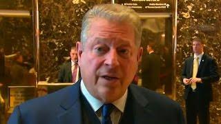 Trump Meets With Al Gore