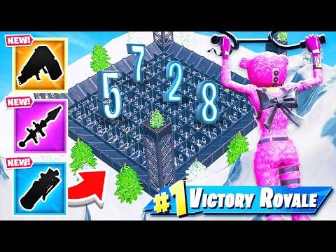 Door Maze RANDOM LOOT NEW Creative Minigame in Fortnite Battle Royale