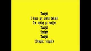 Danny Saucedo ft. The Provider - Tonight Lyrics Video