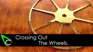 How To Make A Clock In The Home Machine Shop - Part 6 - Crossing Out The Wheels