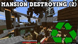 Minecraft Xbox / PE - WOODLAND MANSION RECYCLE (2)