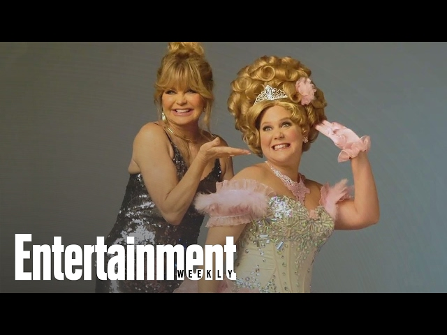 Inside Goldie Hawn & Amy Schumer's Ultimate Mom-Com | Cover Shoot | Entertainment Weekly