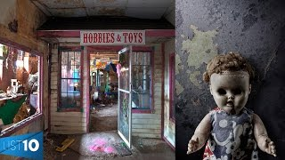 10 CREEPIEST Abandoned Toy Factories | LIST KING