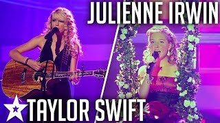 Taylor Swift Performs LIVE Duet with Julienne Irwin on America