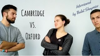 Cambridge vs. Oxford | Interview about the student life