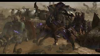 Incredible StarCraft 2 Battle Cinematic