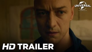 Split - Official Trailer 2 (Universal Pictures) HD