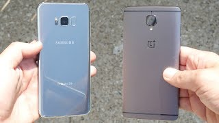 Galaxy S8 Plus vs OnePlus 3T! - Speed Test