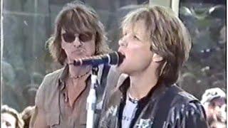 Bon Jovi - Soundcheck + Today Show 2000