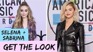 Try The Trend: Recreating Selena Gomez + Sabrina Carpenter AMAs Hairstyles