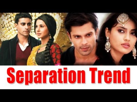 Separation Trend in Television Shows
