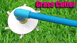 How to Make a Grass Cutter DIY at Home - Life Hacks