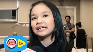 "Push TV: Xyriel Manabat talks about her role in ""Ilawod"""