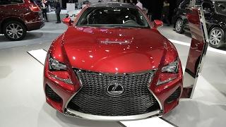 2017 Lexus RCF - Exterior And Interior Walkaround - 2017Montreal Auto Show