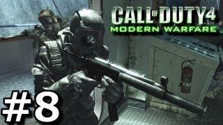 Call of Duty 4: Modern Warfare - Walkthrough - Part 8 [Mission 8: War Pig] (Commentary)