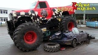 23.03.2014 Monster Truck Show Markdorf Baden Gebrüder Frank