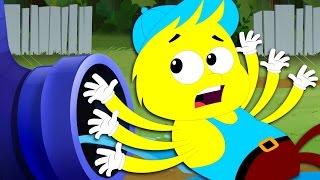 Incy Wincy Spider Nursery Rhymes kids Song Children Videos  kids tv S02 EP0295