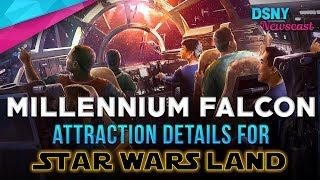 New Details about MILLENNIUM FALCON Ride at Star Wars Land - Disney News - 10/5/17