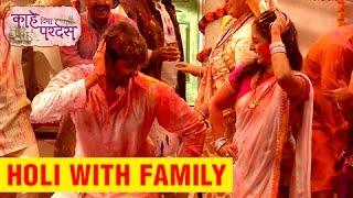 Kahe Diya Pardes - Holi Special   On Set Fun   Sayali Sanjeev, Rishi Saxena   Zee Marathi Serial